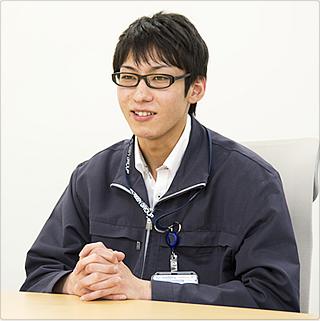 株式会社MEBACS 技術部 技術1課 長橋 2012年入社(中途採用)