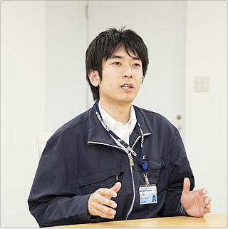 株式会社MEBACS 技術部 技術1課 鈴木 2012年入社(中途採用)
