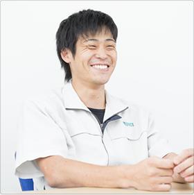 株式会社MEBACS 技術部 技術2課 清水 2014年入社(中途採用